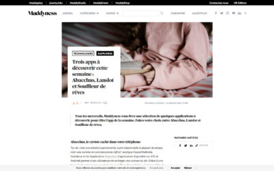 Article sur Maddyness