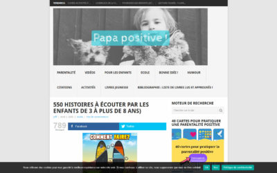 Article dans Papa Positive