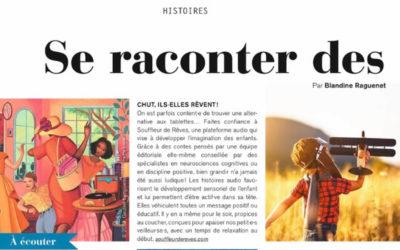 Article dans Marie Claire enfants