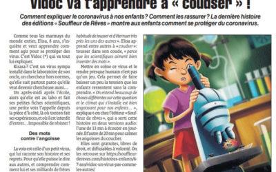 Article dans le Quotidien de la Réunion